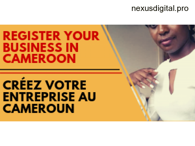 Company registration services in Cameroon