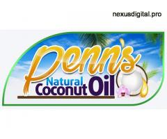 Penn's Natural Coconut Oil - Hot Press - 10 pieces - 250ml